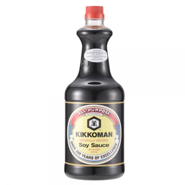 Kikkoman Soy Sauce 1.6L (Made in Singapore)