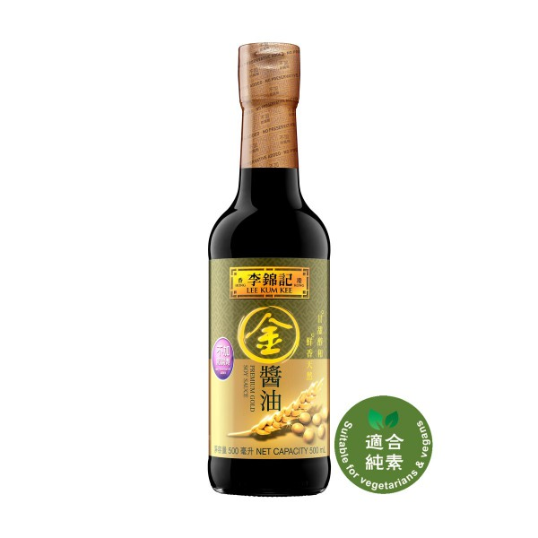 Lee Kum Kee Premium Gold Soy Sauce 500mL